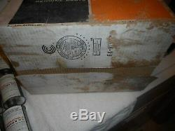 Rare Case of Harley Two-Cycle SAE 40 Cone Top Oil Can Metal