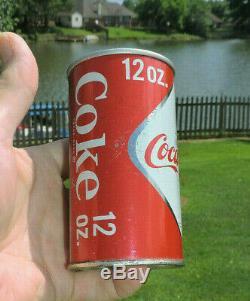 Rare Coca-cola Large Diamond With Bottle 12 Oz Tab Can Atlanta, Ga Nice