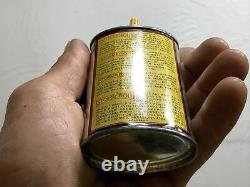 Rare FULL 3 oz Stoegerol oiler, Yellow Stoeger Handy Oil Can