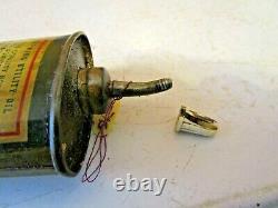 Rare Fleet-Wing Utility Handy Oiler Can 3oz. Pre-War Advertising Oiler