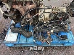 Rare Ford Rwd 2.3 16v Petrol E5fc Engine & Gearbox Can Hear Run Kit Car Retro