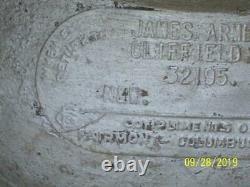 Rare N&W 5gal Cream Can James Armes Cliffield, Va. Fairmont Creamery Columbus OH