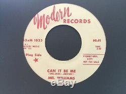 Rare Northern Soul Stomper''can It Be Me'' Mel Williams