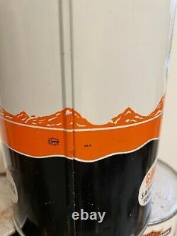 Rare Nourse Quart Oil Can Orange Full Kansas City MO