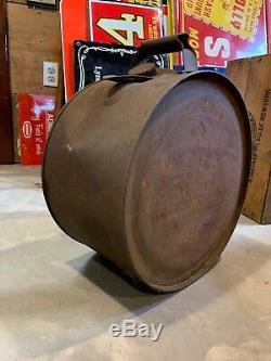 Rare Original HYVIS Motor Oil 5 Gallon Rocker Can / Original 1930s Unrestored