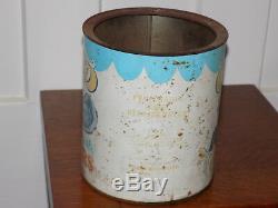 Rare Presto Brand Fresh Oysters 1 Gallon Empty Can