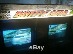 Rare Taito Battle gear 3 driving arcade game machine fully working CAN DELIVER