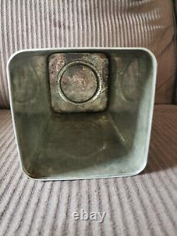 Rare Vintage MOBILOIL C MOBIL GARGOYLE 1 Gallon Motor Oil Can Vacuum Oil Company