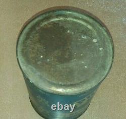Rare Vintage Nourse Oil Co. Kansas City Quart Four Viking Oil Can Full