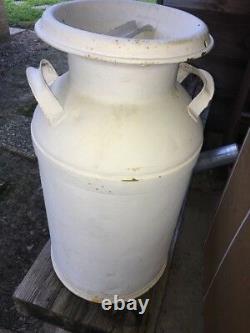 Rare Vintage PONTOTOC DAIRY MILK CAN, Pontotoc Mississippi