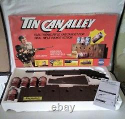 Rare Vintage Tin Can Alley Game (DR PEPPER) WORKING