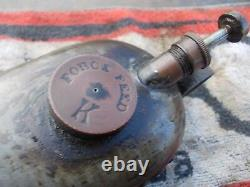 Rare kayes pie crust oil can with bracket