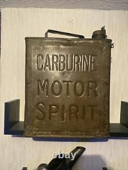 Rare petrol can Carburine Motor spirit