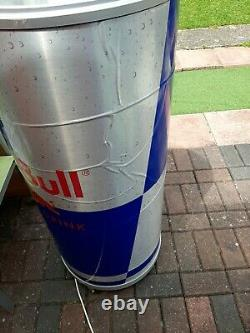 Red Bull Fridge/Chiller Can Style Man Cave, Shop Retail Rare/ Limited Edition