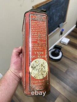 Red Hat Perfectol Motor Oil 1 Gallin Can Rare Original