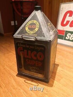 Redline Glico Super Oil Can Rare Collectable