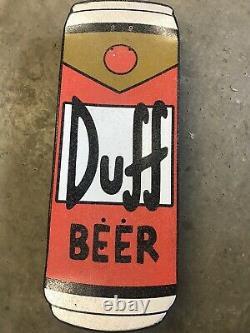 Santa Cruz Simpsons Homer Duff Beer Can Skateboard Cruiser RARE Skateboard