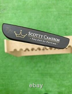 Scotty Cameron OIL CAN CLASSICS CORONADO TWO 35 With Cover Rare F/S