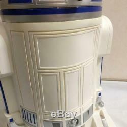 Star Wars R2-D2 Dust Box Trash Size H600×W400mm Movie SUPER RARE Trash can
