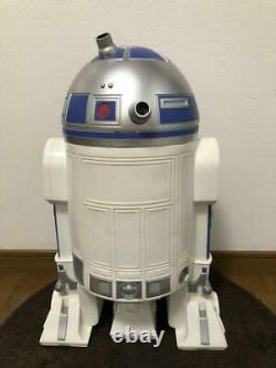 Star Wars R2-D2 Dust Box Trash Size H600×W400mm SUPER RARE Movie Trash can Japan