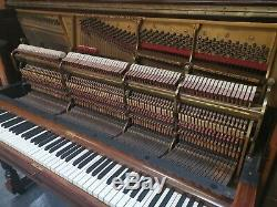 Steinway & Son's Piano & Rare Matching Stool Circa 1905 CAN DELIVER