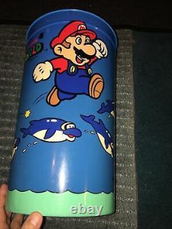 Super Mario World 1991 trash can Rare! Merchandise Nintendo SNES Famicom Yoshi