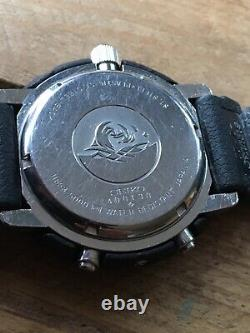 Super Rare Vintage & Original 1984 Seiko Arnie H558 5000 5009 Tuna Can Watch