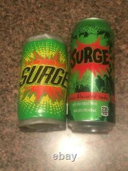 Surge Soda Plush Stuffed Can Insainely Rare (please read!)