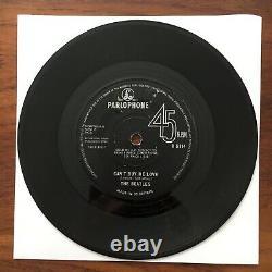 THE BEATLES Cant Buy Me Love RARE PARLOPHONE 1N/1N SOLID 1964 7 45 VINYL R5114