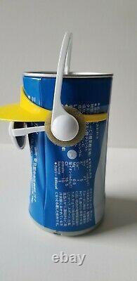 Takara 1989 Pocari Sweat Dancing Can Very Rare Otsuka Energy Drink Working