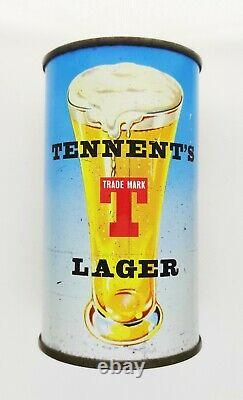 Tennents Scottish Series Braemar Flat top OI on Lid Beer Can Scotland Rare ft uk
