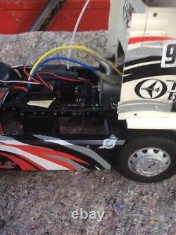 Thunder Tiger Man Truck Lorry Vintage Rare Nitro Rc Can Courier Read Description