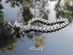 Tiffany & Co RARE Silver Watering Can Charm Bracelet