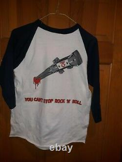 Twisted Sister 1983 You Can't Stop Rock n Roll shirt rare vintage Large Crue