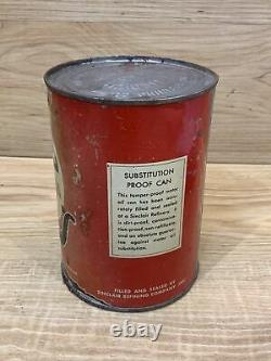 VERY RARE ORIGINAL Sinclair Pennsylvania Motor Oil Can Empty