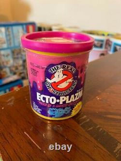 VINTAGE 1984 Kenner REAL GHOSTBUSTERS ECTO-PLAZM PURPLE Can RARE
