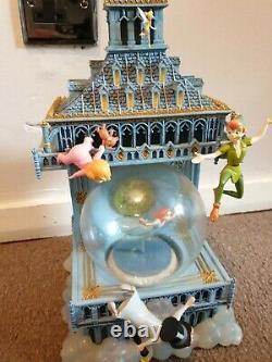 Very Rare Disney Peter Pan Globe You Can Fly Big Ben Clock With Orignal Box
