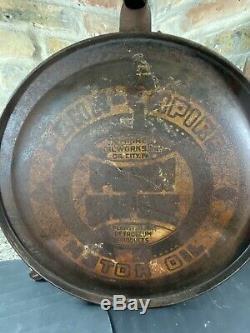 Vintage 1920s PENN EMPIRE Motor Oil 5 Gallon Gasoline Station Rocker Can Rare