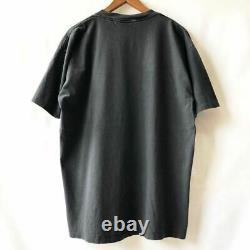 Vintage 90s Dead Can Dance Skull Short Sleeve T-shirt Size XL Black rare