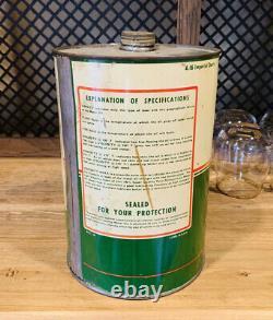 Vintage Dosch 5 quart oil can, ULTRA RARE