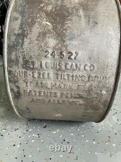 Vintage Penn Empire Works Motor Rocker Oil 5 Gallon Can Rare Orig Pennsylvania