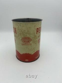 Vintage Penn Rock Motor Oil Quart Can Buffalo NY RARE Rock Oil Corp