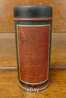 Vintage RARE Early Phillips 66 Tube Repair Kit Tin Rubber Tire Patch Gas Oil Can
