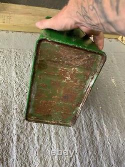 Vintage Rare Citex 2 Gallon Petrol Can Oil Automobilia Old