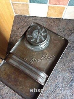 Vintage Rare Duckhams Adcol Motor Oil Can Jug Pourer Esso BP Castrol