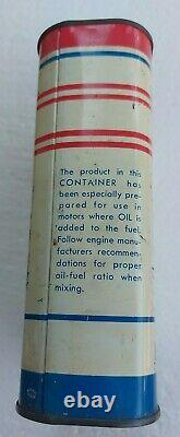 Vintage Rare Empty Acme Refining Co Acmelube Outboard Motor Oil Tin Can 1 Quart