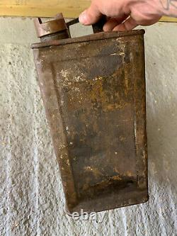 Vintage Rare Munster Simms 2 Gallon Petrol Can Oil Automobilia Old