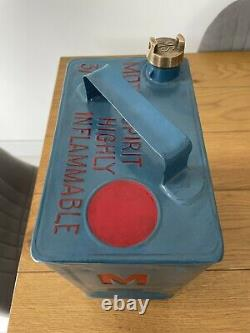 Vintage Rare Munster Simms 2 Gallon Petrol Can With Matching Cap