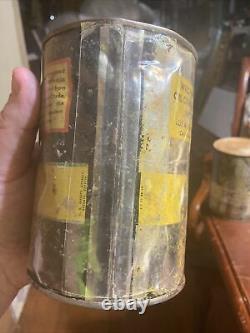 Vintage Rare Polly Penn Motor Oil Can