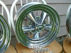 Vintage Rocket Racing Mag Wheel NOS Cap Chevy Camaro Chevelle Impala GTO 15x8